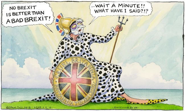 Khurram Wadee Stevebell On The Lords And Brexit Cartoon